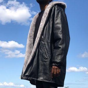 Other - Leather Jacket Inside Fur